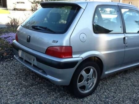 1999 Peugeot 106 S16 GTI right rear