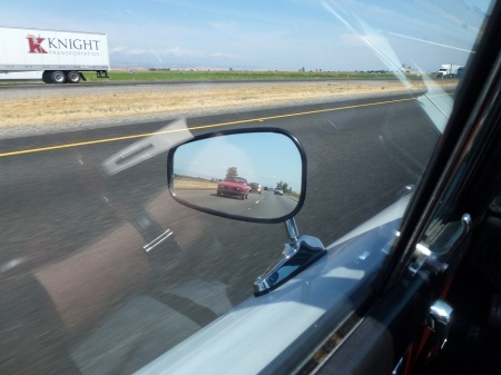 2 1979 Alfa Alfetta GT and 1972 BMW 2002tii in rearview