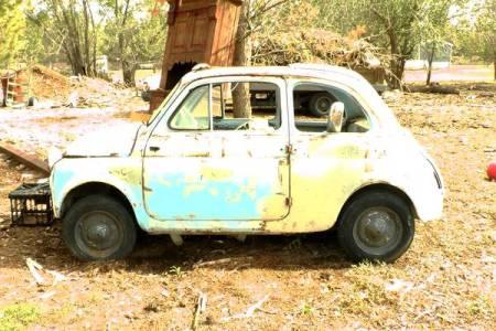 1960 Fiat 500 left side