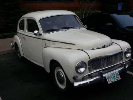 1964 Volvo 544 left front