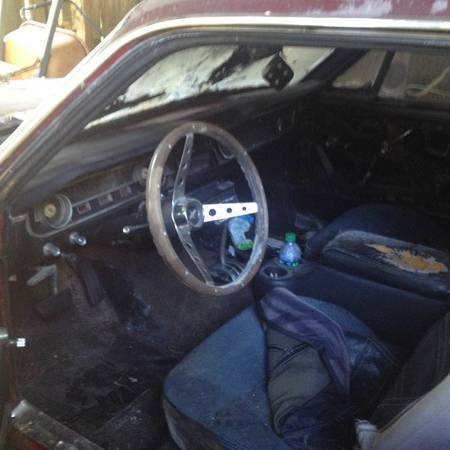1965 Ford Mustang interior