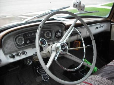 1966 Mercury M100 interior
