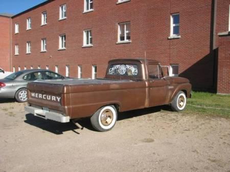1966 Mercury M100 right rear