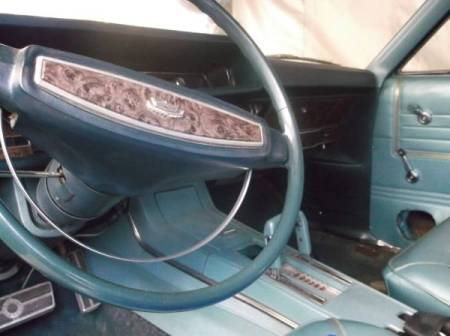 1968 Ford XL interior