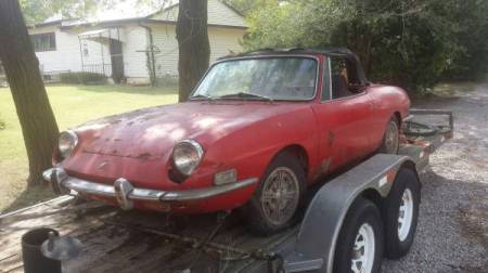 1971 Fiat 850 Spider right front