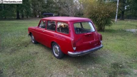 1973 VW Squareback left rear