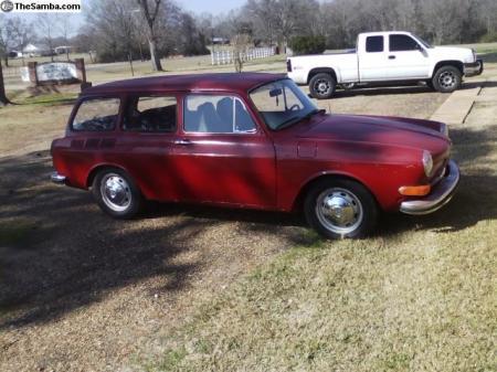 1973 VW Squareback right front