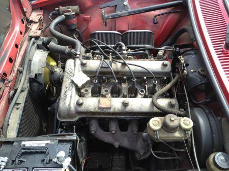 1975 Alfa Romeo Alfetta GT 2 engine