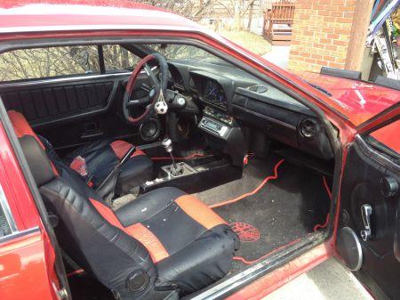 1975 Alfa Romeo Alfetta GT 2 interior