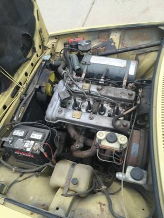 1976 Alfa Romeo Alfetta GT 2 engine