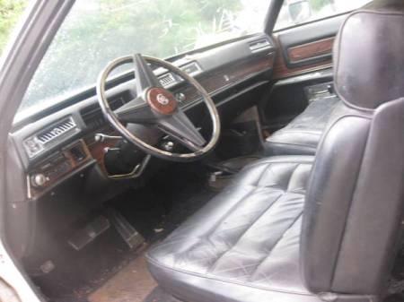 1976 Cadillac Eldorado Comstock Wagon interior