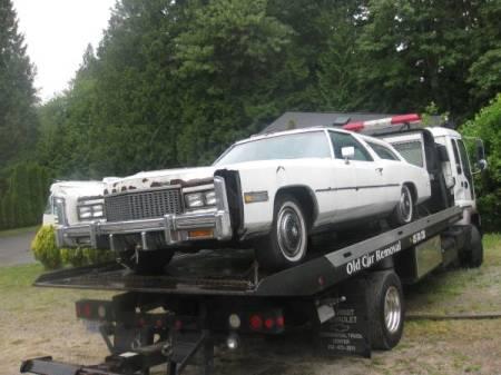 1976 Cadillac Eldorado Comstock Wagon left front