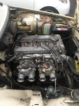 1979 Alfa Romeo Alfetta GT 2 engine
