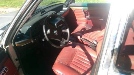 1979 BMW 528i interior