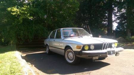 1979 BMW 528i right front