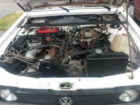 1979 VW Dasher engine