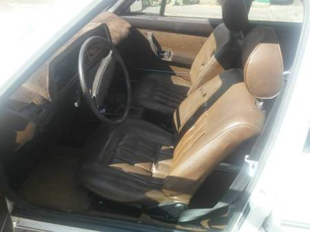 1979 VW Dasher interior