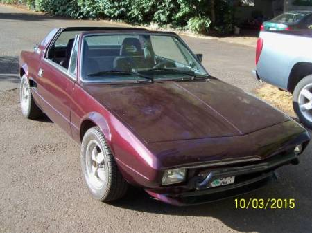 1980 Fiat X1-9 right front