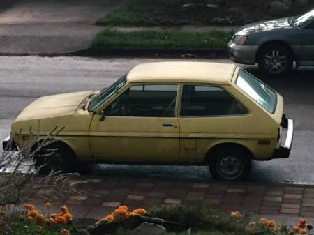 1980 Ford Fiesta left side