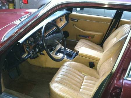 1981 Jaguar XJ6 interior