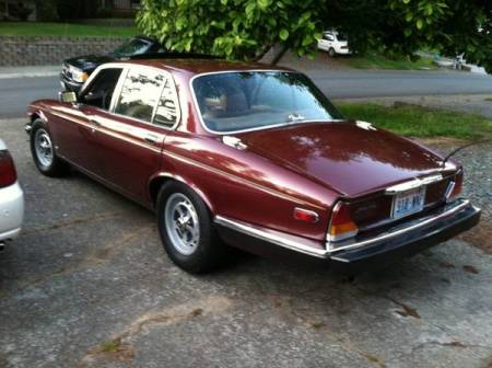 1981 Jaguar XJ6 left rear