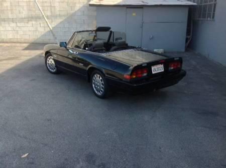 1987 Alfa Romeo Spider Quadrifoglio left rear