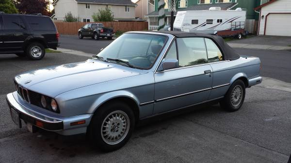 Bargain Bin BMW I Convertible Rusty But Trusty - Bmw 325i convertible