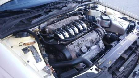 1991 Alfa Romeo 164L engine