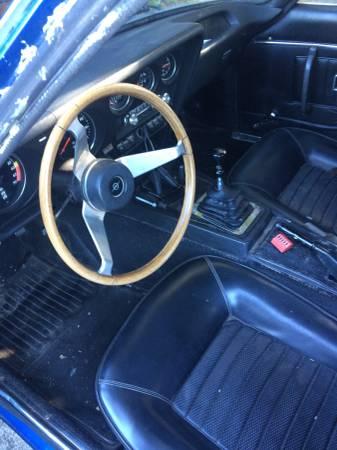 1969 Opel GT interior