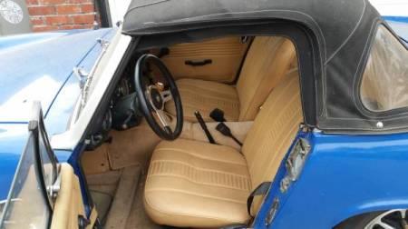 1972 MG Midget interior