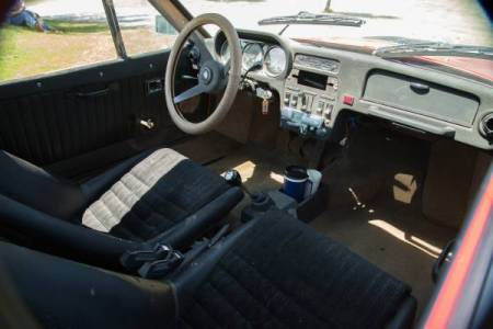 1973 Saab Sonett III 3 interior