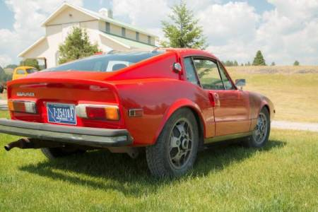 1973 Saab Sonett III 3 right rear