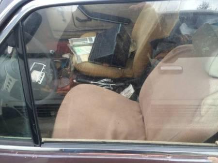 1974 Fiat 124 Coupe interior