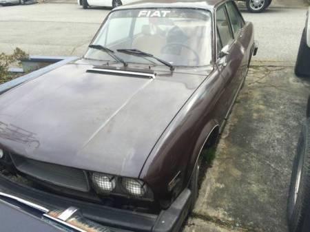 1974 Fiat 124 Coupe left front