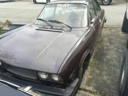 1974 Fiat 124 Coupe left front