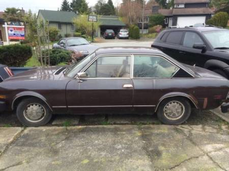 1974 Fiat 124 Coupe left side