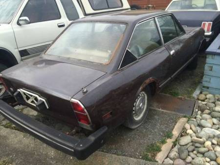 1974 Fiat 124 Coupe right rear