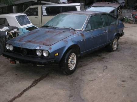 1977 Alfa Romeo Alfetta GT 2 left front