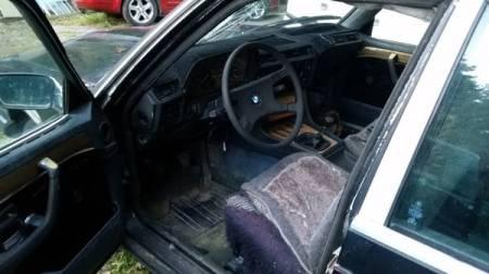 1978 BMW 733 interior