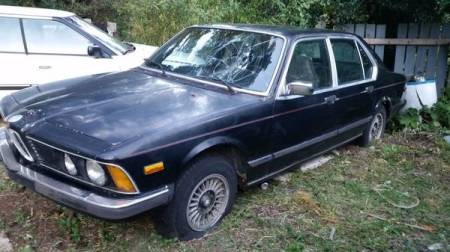 1978 BMW 733 left front