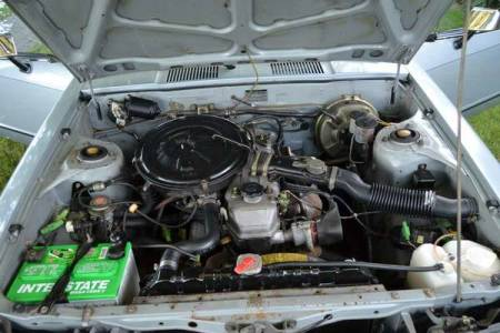 1978 Toyota Celica GT engine