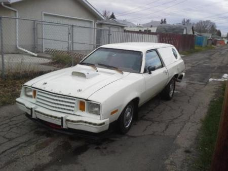 1979 Ford Pinto Cruising Wagon left front
