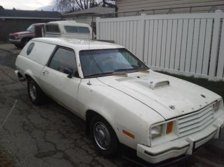 1979 Ford Pinto Cruising Wagon right front