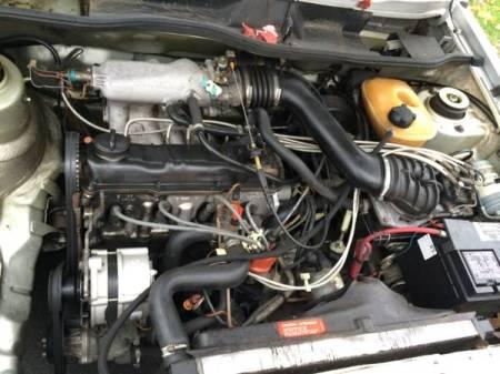 1984 Volkswagen Jetta GLI engine