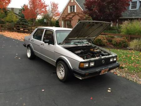 1984 Volkswagen Jetta GLI right front
