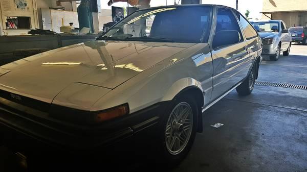 Inspiration 1986 Toyota Corolla Gts Rusty But Trusty