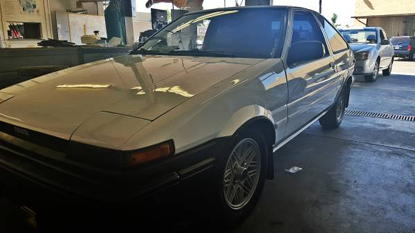 1986 Toyota Corolla GTS Right Front