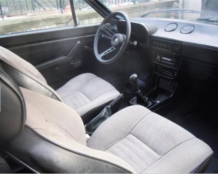 1988 Alfa Romeo Alfasud Sprint 1.3 interior