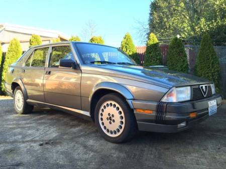 1988 Alfa Romeo Milano Verde right front