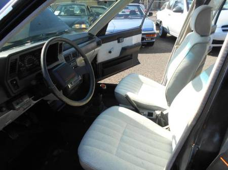 1988 Chevy Nova Twin Cam interior